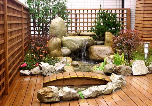 for Japanese meditation garden design